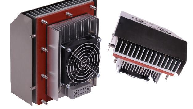 Elmekos Kühlgerät PK50 HD erreicht die hohe Schutzart IP67 und ist dank Peltiertechnik energieeffizient.