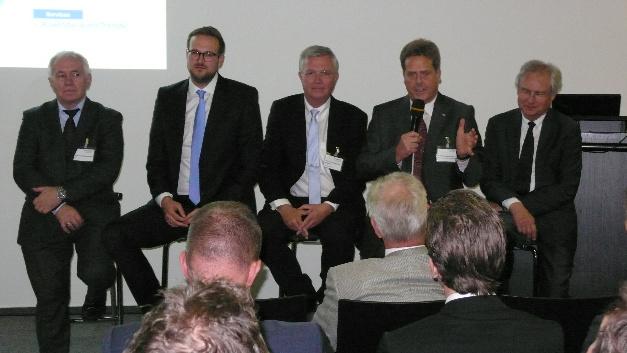 Bei der Vorstellung des »Industrie 4.0 Maturity Index« auf der Hannover Messe