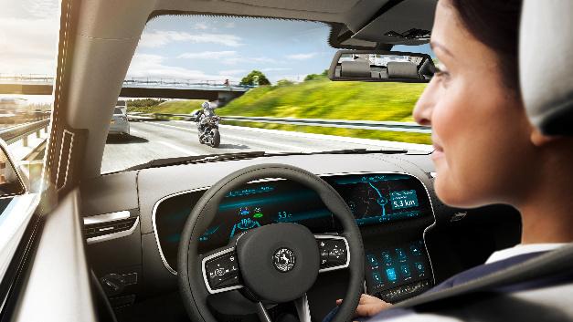 Der Fahrer greift nicht mehr in den Straßenverkehr ein.
