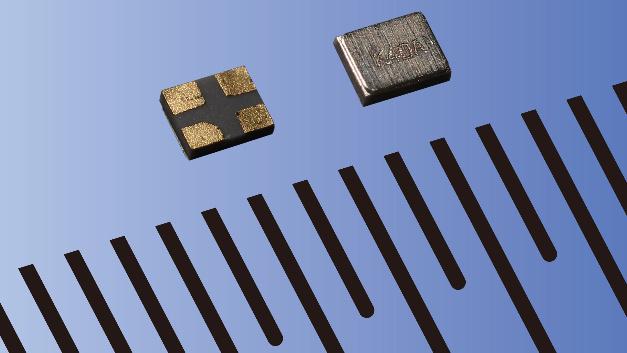 Eine Frequenztoleranz von ±10 ppm weist Kyoceras nur 0,30 mm hoher Schwingquarz CX1008 auf.
