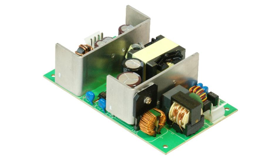 Die Medizinnetzteilserie MPM-S120 liefert bis zu 120 W Ausgangsleistung.