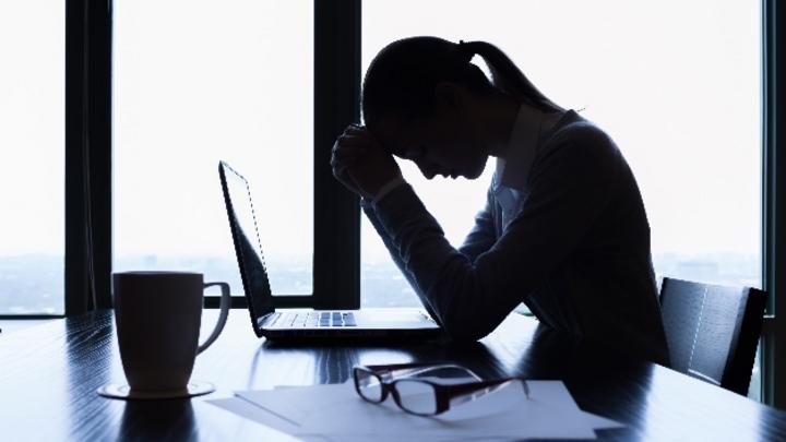 Stress im Job macht krank.