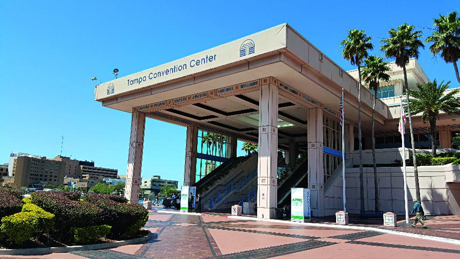 Vom 26. bis 30. März 2017 fand die Applied Power Electronics Conference (APEC) im Tampa Convention Center statt.