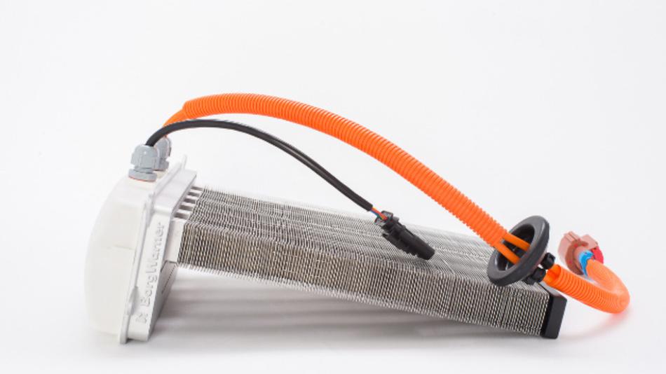 Zuheizer für elektrifizierte Fahrzeuge von Borgwarner.
