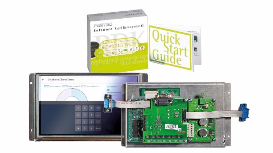 Das HTML5-Kit besteht aus Entwicklungsboard mit i.MX6-Prozessor, 7-Zoll-Touch-Display und einem kompletten Softwarepaket.