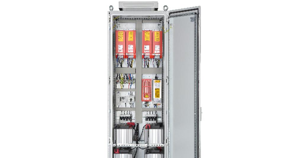 Die Energiemanagementsysteme von Typ KTS hat die Michael Koch GmbH für  Spitzenleistungen bis weit über 100 kW und Energien bis 1,8 MJ ausgelegt