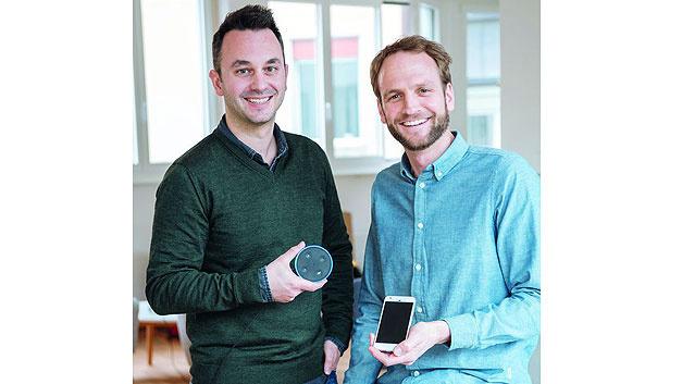 Bild 1. Die Entwickler des Amazon Echo Skill für Bring: Sandro Strebel und Jürg Egli.