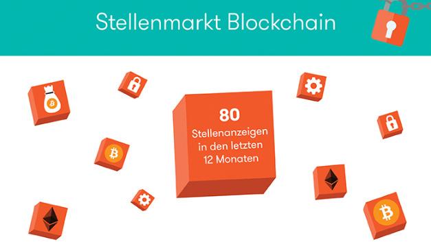 Noch klein: Stellenangebot zu Blockchain