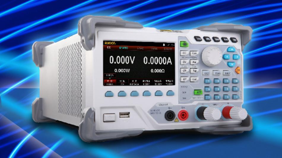 Die DL3000-Familie von Rigol kann die Signalform direkt auf dem 4,3-Zoll-Display darstellen.