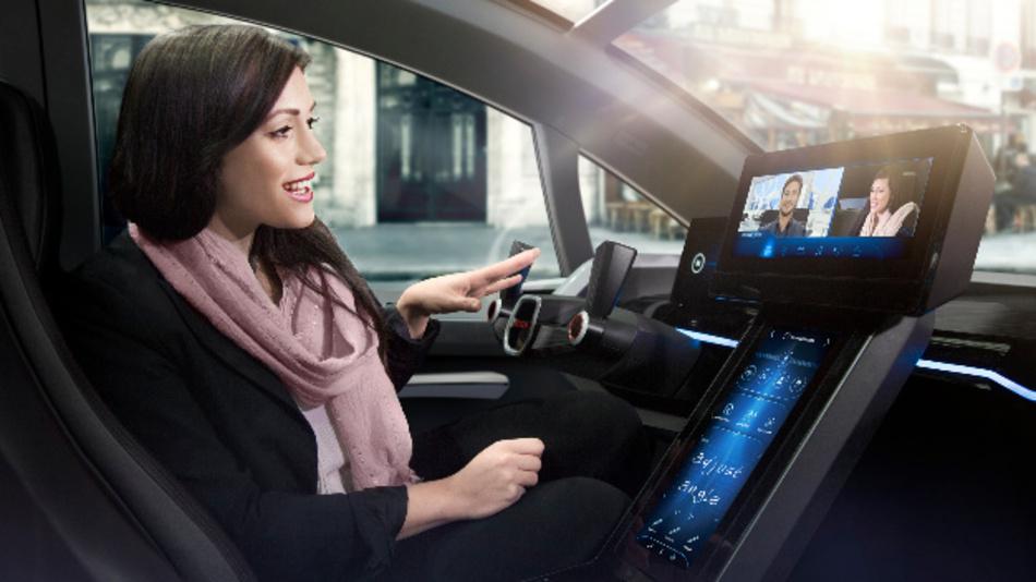 Human Machine Interface – die Kommunikation zwischen Fahrer und Fahrzeug wird sich verändern.