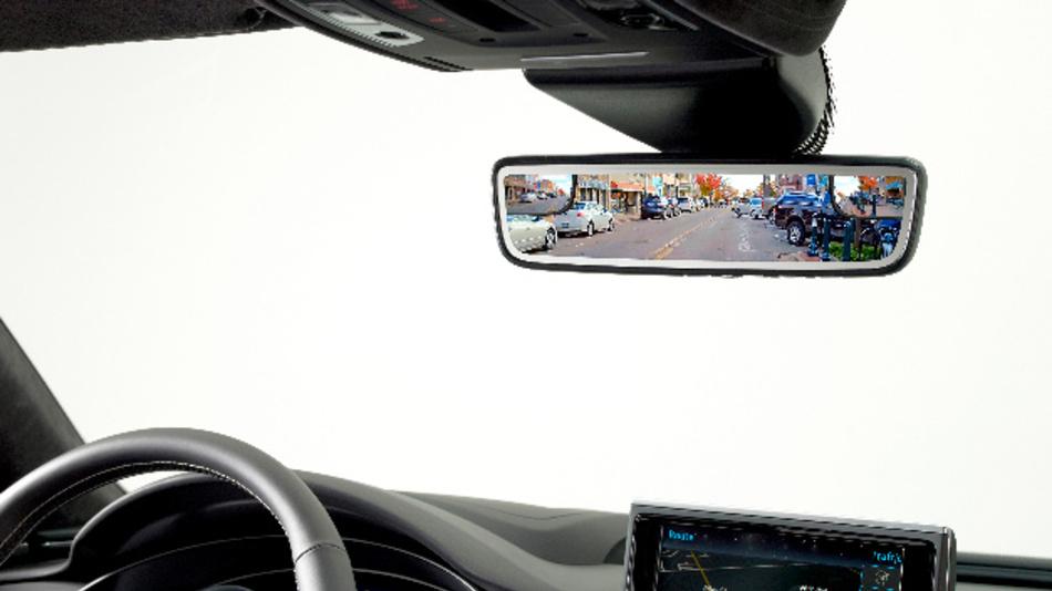 Dualer Display-Spiegel von Gentex.