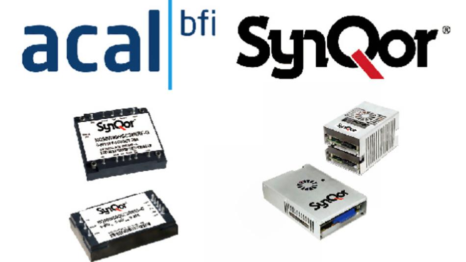 Acal BFi und Synqor intensivieren ihre Zusammenarbeit