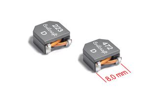 Coilcrafts neue Induktivitäten-Baureihe SRT8045 verfügen über eine magnetische Schirmung und erreichen mit 8 x 8,4 x 4,5 mm³ sehr kompakte Abmessungen. Die zulässigen Sättingungsströme erreichen Werte bis 17,4 A, und die Gleichstrom-Widerstandswerte