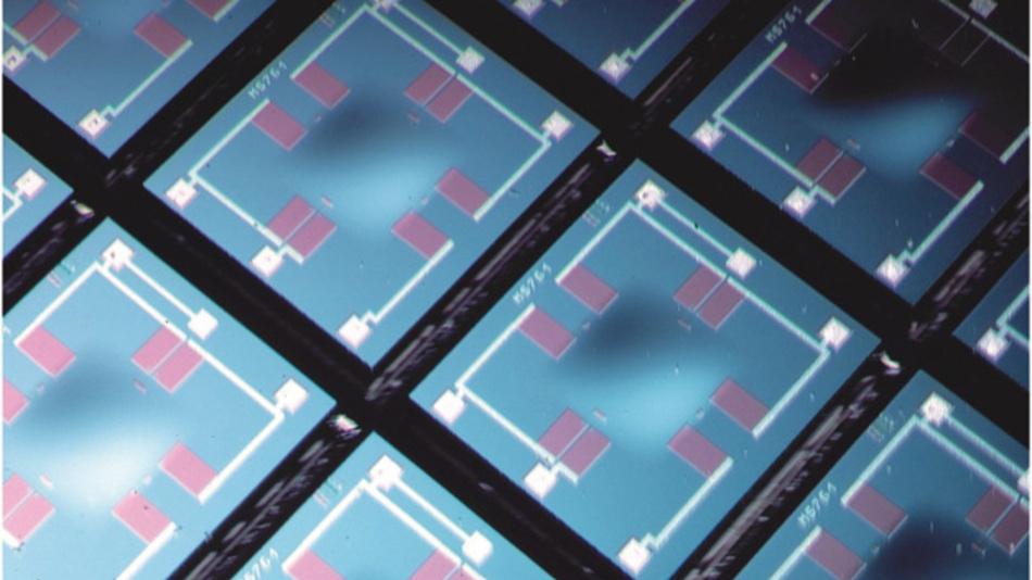 Silizium-Messzellen für die Absolutdruckmessung im Wafer-Verbund unter Umgebungsdruck