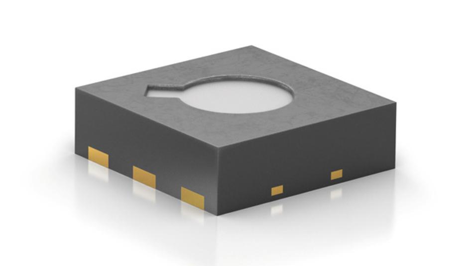 Langzeitstabil und winzig klein: der Siloxanresistente Metalloxid-Gassensor SGP von Sensirion