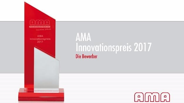"""Alle Bewerbungen auf einen Blick: Broschüre """"AMA Innovationspreis 2017"""""""