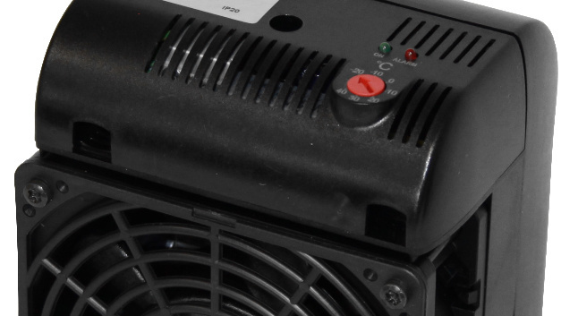 Im Temperaturbereich von -40 bis +70 °C lassen sich Elmekos Schaltschrank-Heizungen HL 1200C und HL 1500C einsetzen.