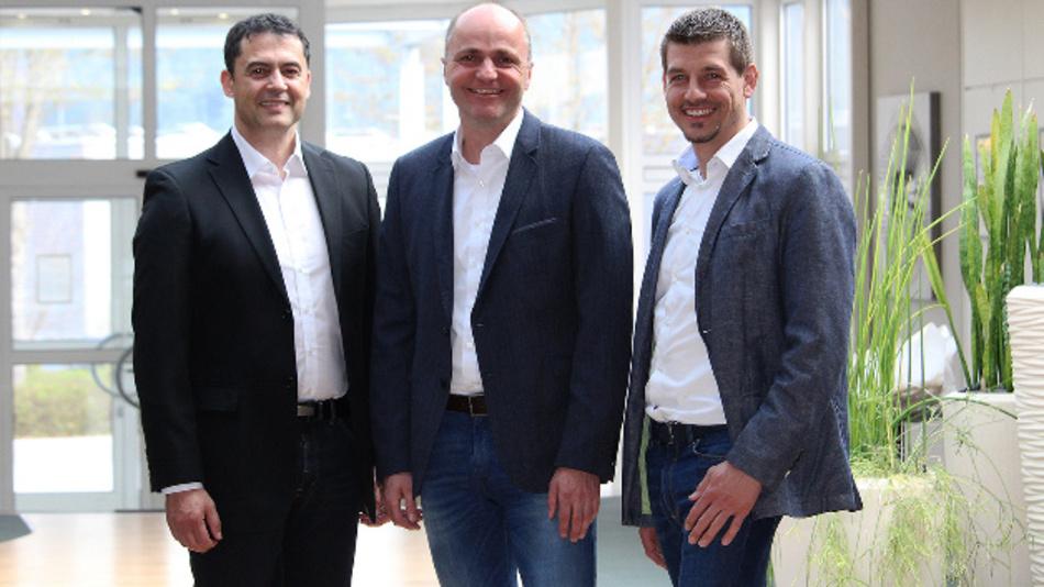 Die neue Geschäftsleitung von Jauch (v.l.n.r.): Daniel Panzini, Andreas Nann und Steffen Fritz
