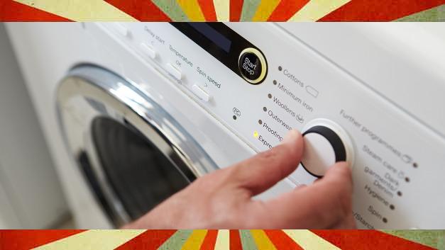 So ist man es gewohnt: Man drückt auf den Knopf, und eine Stunde später holt man die frisch gewaschene Wäsche aus der Maschine.