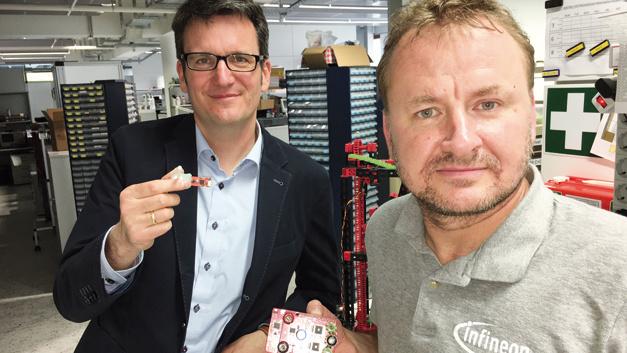 Jürgen Hoika (links) und Johannes Breitschopf sind sich einig: Maker geben Impulse