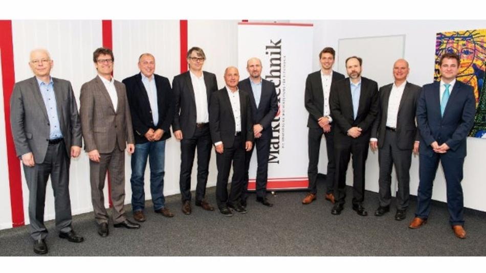 """Die Teilnehmer des Markt&Technik-Forums """"Industriecomputer & Embedded Systeme"""""""