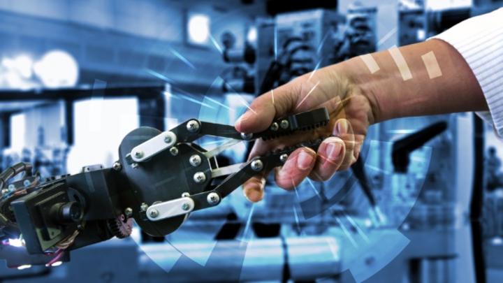 Mensch-Roboter-Kollaboration, Cobots, Kollaborative Roboter.