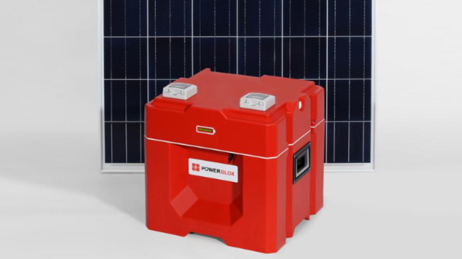 Aus mehreren Power-Blox kann einfach ein selbststeuerndes Energie-Netz aufgebaut werden.