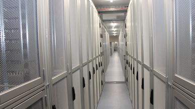 Das neue Rechenzentrum von Noris Network bietet 3.200 Quadratmeter IT-Fläche.
