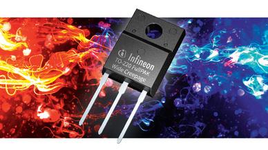 Mosfet von Infineon mit TO-220-FullPAK-Wide-Creepage-Gehäuse