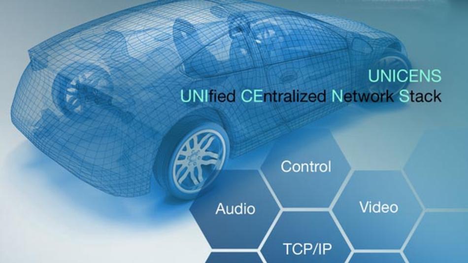 Mit Unicens von Microchip erübrigen sich eine MCU und das Software-Management in Netzwerkknoten, so dass sich Kosten sparen lassen.
