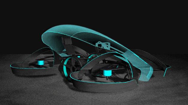 Hinter dem Projekttitel »Skydrive« verbirgt sich ein fliegendes Auto von Toyota.