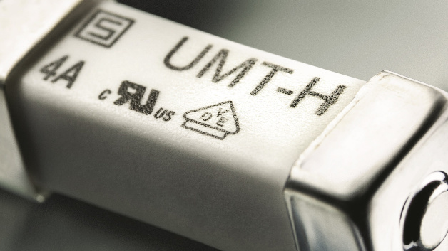 Sicherung mit maximaler Stromaufnahme von 4 A gemäß AEC-Q200 für Akkuzellen der Elektrofahrzeuge.