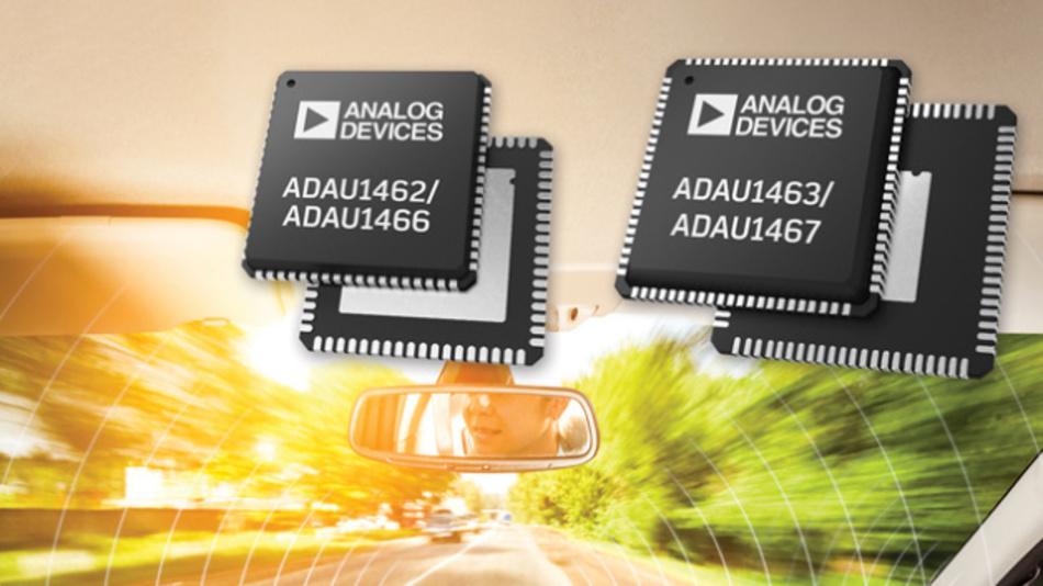 Die Festkomma-DSPs von Analog Devices sind für kommende Anforderungen neuer und verbesserter Audio-Algorithmen ausgelegt.