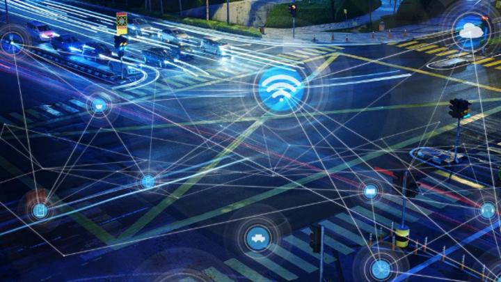 Vernetzung im zukünftigen Straßenverkehr