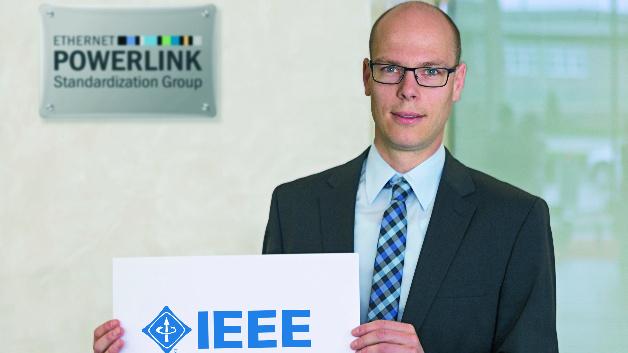Stefan Schönegger, Geschäftsführer der EPSG (Ethernet Powerlink Standardization Group), sieht das Potenzial von Powerlink als Standard IEEE 61158 in Kombination mit der ebenfalls von der IEEE entwickelten TSN-Technik.