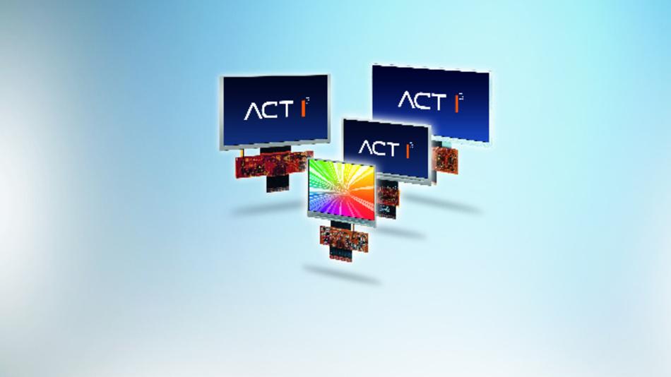 Das Risiko der Langzeitverfügbarkeit von TFT-Displays minimiert Actron mit dem Konzept ACT I3.