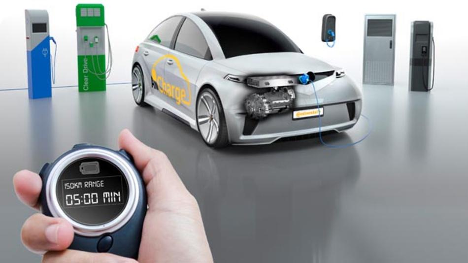 AllCharge-Lösung von Continental soll Elektroautos fit für jede Ladetechnik machen.