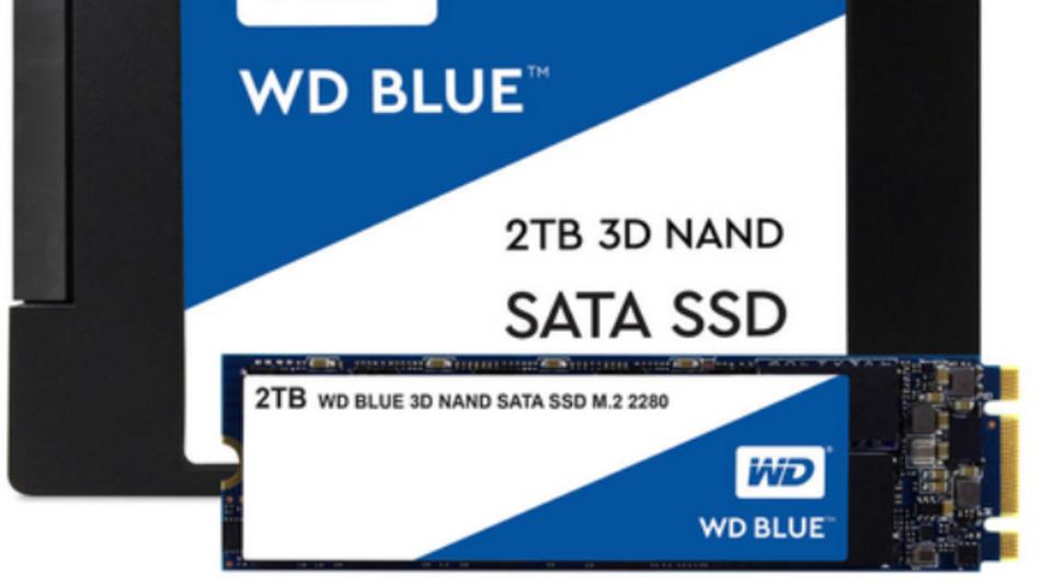 Mit Speicherkapazitäten von bis zu 2 Terabyte gibt es Western Digitals SSDs im 2,5-Zoll-Gehäuse und im Formfaktor M.2 2280.