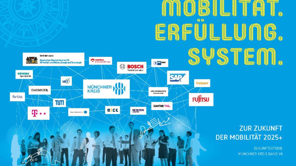 Mobilität.Erfüllung.System. - Das ist der konzeptionelle Rahmen der Zukunftsstudie.