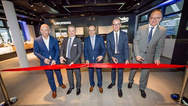röffnung der Beko und Grundig Brand Gallery durch Alexander Zell, Ragip Balcioglu, Sühel Semerci, Christian Struck und Oliver Quilling