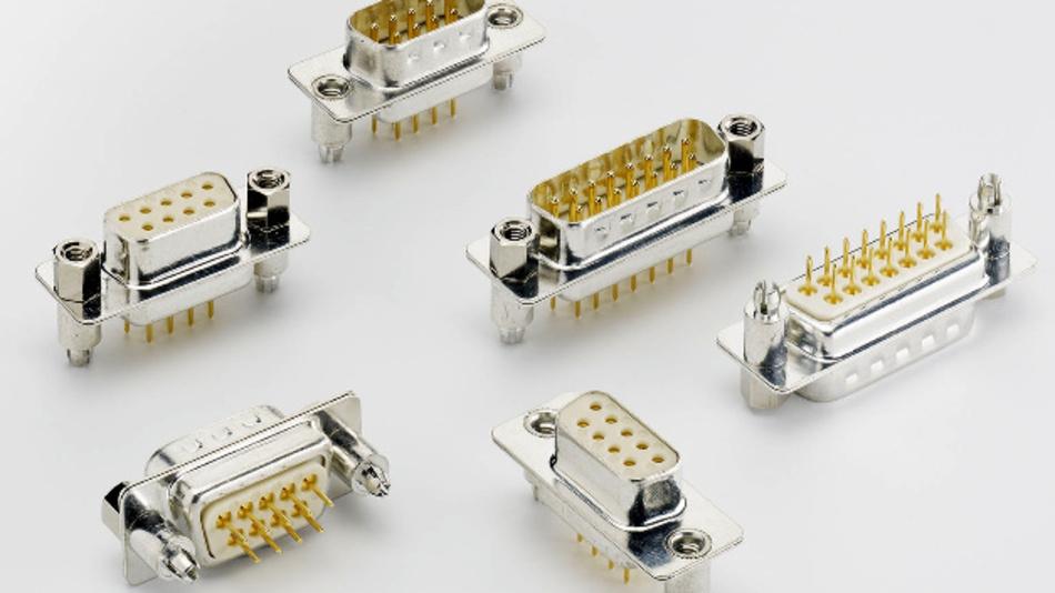 Das bestehende D-Sub-Standardsteckverbinder wird erweitert