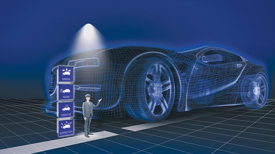 Offene Plattform im Fahrerassistenzsystem mit Baustein R-CAR-V3M-SoC