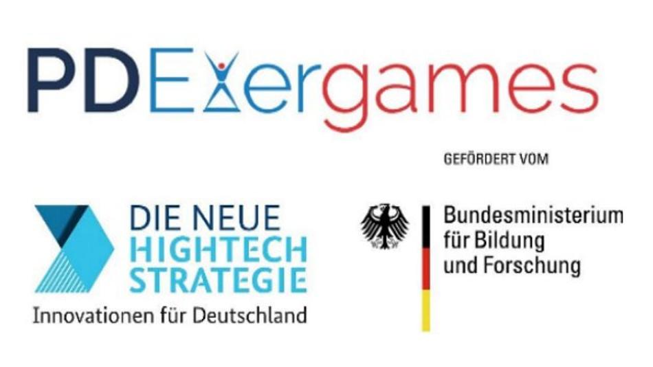 Das Logo des Forschungsprojekts PDExergames