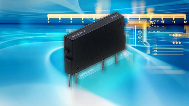 Panasonics PhotoMOS-Relais der AQZ-Serie haben einen typischen Übergangswiderstand von nur 15 mOhm.