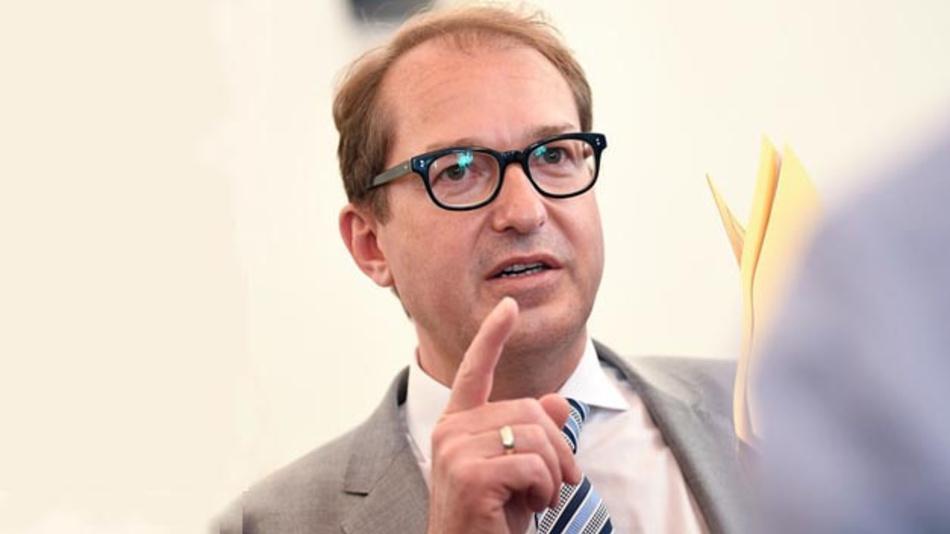 Alexander Dobrindt: »Audi hat illegale Abgas-Software verwendet.«
