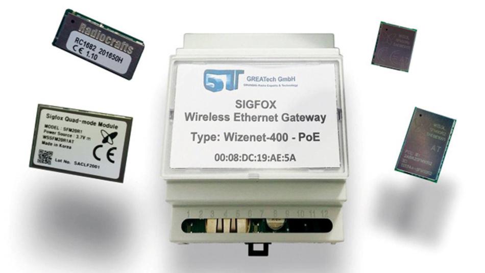 Greatech entwickelt kundenspezifische Sigfox-Lösungen auf Basis der Funktransceiver  von Radiocrafts, WISOL und Innocom, die das Unternehmen in Europa vertreibt. In der Ethernet-zu-Sigfox-Plattform von Greatech ist ein Sigfox Modul von Radiorafts integriert.