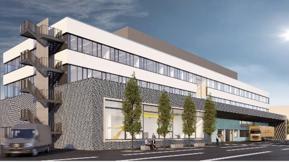 Der Neubau von HBM in Darmstadt soll bis Anfang 2018 fertiggestellt sein.