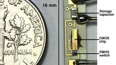 Komponenten eines batterielosen Herzschrittmachers