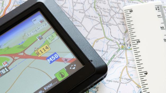 Lokalisierung im Straßenverkehr.