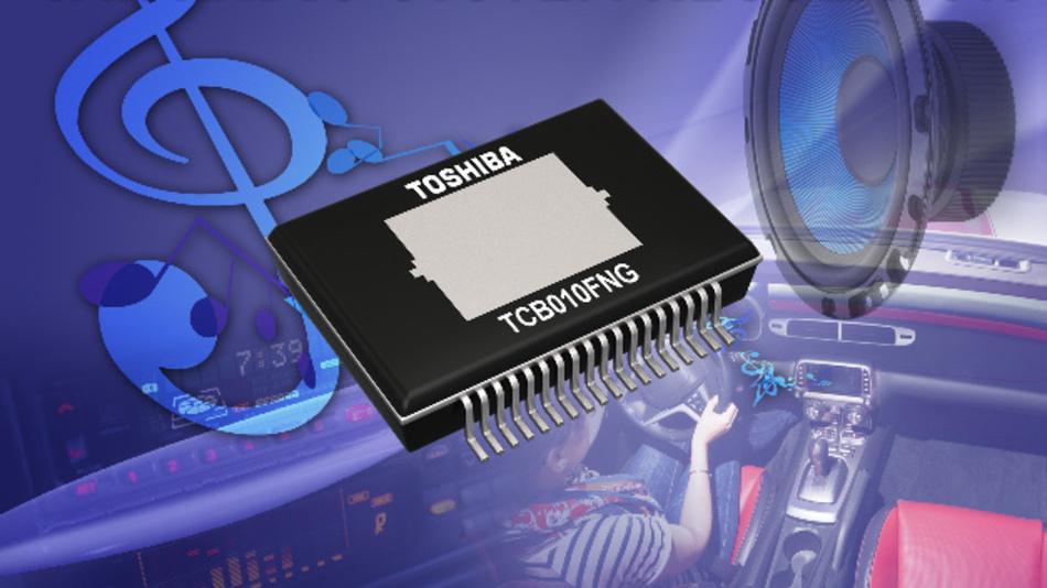 Regler-IC TCB010FNG für Audiosysteme.